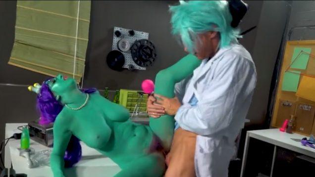 Порно пародия Рик и Морти